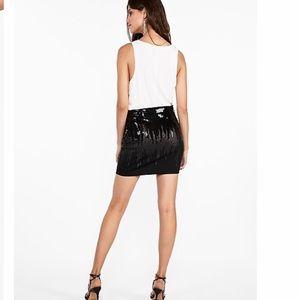 NWT EXPRESS MINI SKIRT sequin skirt